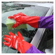 Car Wash, Guantes De Látex Y Terciopelo Doble, Par