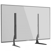 "1home Universal Tabletop TV Stand Pedestal Mount Monitor Riser fits 22""-65"" Screens"