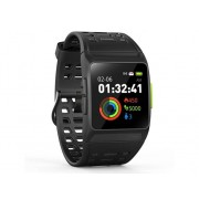 LEOTEC Reloj deportivo LEOTEC Training GPS Total Heart (Bluetooth - 5-7 días de autonomía - Pantalla táctil - Negro)