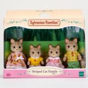 Sylvanian Families - Csíkos cica család - Sylvanian families játékok