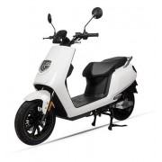 Scuter Electric LVNENG S5, Viteza Maxima 45 Km/h, Autonomie 75 - 150 Km, Motor 3.0KW Bosch (Alb)