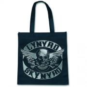 Sacoșă (geantă de mână) Lynyrd Skynyrd - Biciclist Plasture - ROCK OFF - LSECOBAG01T