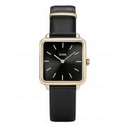 CLUSE Horloges La Tetragone Gold Black Zwart