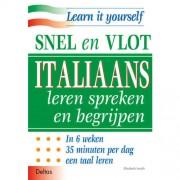 Snel en vlot Italiaans leren spreken en begrijpen - E. Smith