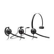 Plantronics EncorePro HW540D Wired Mono Headset - Over-the-head, Behind-the-neck, Over-the-ear - Supra-aural