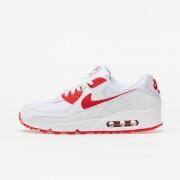 Nike Air Max 90 White/ Hyper Red-Black