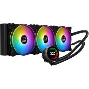 Liquid Cooling for CPU, Xigmatek Aurora AIO, 360mm ARGB MB SYNC EN42814 (AURORA_360)