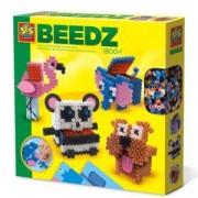 Детски креативен комплект с Мъниста 3D SES, кутии животни, 0806267