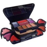 ADS Color Series Makeup Kit (8 Eyeshadow 1 Power Cake 8 Lip Color 2 Blusher)