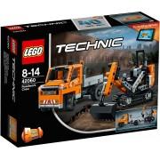 LEGO®, 2-in-1 model Wegenbouwploeg (42060), »LEGO® Technic«