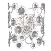 Italux Nardo kinkiet 2-punktowy srebrny WL-33064-2-CH.S