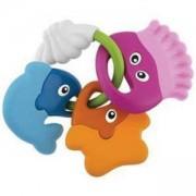 Бебешка дрънкалка - чесалка Морски приятели, Chicco, 072014