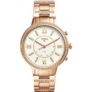 Fossil Q Virginia (FTW5010) Women`s Hybrid Smartwatch- Rose Gold, B