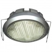 DL-GX53-9W, 1db 230V 9W GX53 kompakt fénycső, ezüst, beépíthető típus, szekrény alatti lámpa