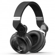 BLUEDIO T2+ Wireless Bluetooth 4.1 Over-ear Stereo Headphone Headset with Mic - Black