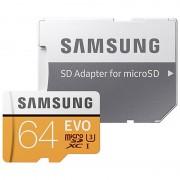 Cartão de Memória MicroSDXC Samsung Evo MB-MP64GA/EU - 64GB