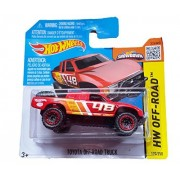 Hot Wheels Hw Off Road 120/250 Toyota Off Road Truck On Short Card (Red)