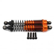 Generic Red : 110mm Front Shock Absorber For Axial Yeti Rock Racer AX90026 Desert Buggy Off-Road Crawler Upgraded Parts