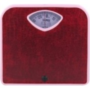 Samso Sleek Weighing Scale(Red)