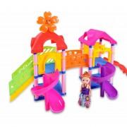 Bloques de color Amusement Park escalerilla deslizante Puzzle Kid