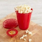 BRIJWASI MICROWAVE SAFE POPCORN MAKER 500 ml Popcorn Maker(Red)