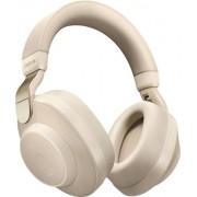 Jabra - Elite 85h Wireless Noise Cancelling Over-the-Ear Headphones - Gold Beige