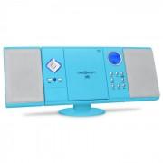 OneConcept V-12 Cadena estéreo MP3 CD USB SD AUX azul (MG3-V12-BLUE)