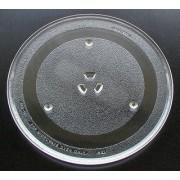 GoodsBazaar Universal Microwave Oven Turntable Glass Plate 10.5 inch Coupler Fiber Glass Tray