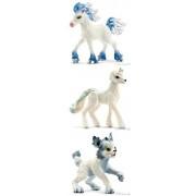 Schleich Bayala Fantasy Ice Set of Three (3) Creatures Takkiti (13487), Xalimbo (13488) and Ki Kuki (13490) Plastic Animals Bagged and Ready to Give