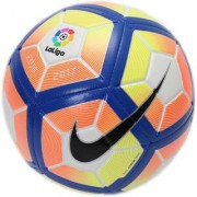 RSO Laliga White Orange Comp. Football - Size 5 (Pack of 1 Multicolor)