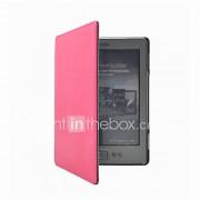 verlegen beer ™ magneet slimme pu lederen beschermhoes voor Amazon Kindle 4 of 5 Kindle ereader