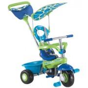 Tricikl Fresh plavo zeleni. SMART TRIKE
