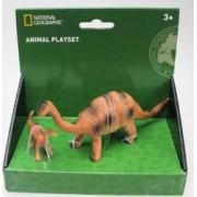 Set 2 figurine National Geographic Apatosaurus
