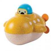Drewniana zabawka do kąpieli, do wanny - łódź podwodna Plan Toys
