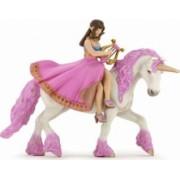 Figurina Papo - Printesa cu lira pe cal