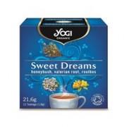 Ceai Vise Placute cu Miere, Valeriana si Rooibos Bio 21.60gr Yogi Tea