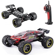 Hosim All Terrain Rc Car S912, 33+Mph 1/12 Scale Radio Controlled Electric - Offroad 2. 4Ghz 2Wd Remote Control Truck Best Christmas Gift for Kids and Adults ( Red )