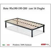 ErgoRelax Rete per materasso a 14 doghe in faggio VIENNA da cm 95x190/195/200 100% Made in Italy