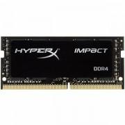 Memorija Kingston DRAM 16GB 2666MHz DDR4 CL15 SODIMM HyperX Impact EAN 740617265385