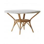 Sika-Design Danielle ø120 matbord vit rotting, sika-design