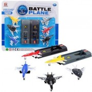 War Fighter Battle Planes Set for Kids, Pack of 6 Plane (Multi Color)