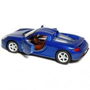 """Kinsmart - 4.5"""" Porsche Carrera GT (Blue)"""