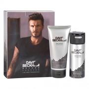 David Beckham Beyond Forever Gift Set: Deo Spray 150ml+SG 200ml