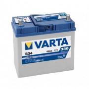 Varta Blue Dinamic 12V 45Ah 330A B34 Asia 545158 autó akkumulátor bal+