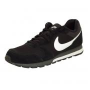 Nike Chaussures Nike MD Runner 2 grande taille noires en daim