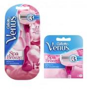 Gillette Combi Venus Breeze SPA Systeem incl 6 mesjes