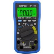 HOLDPEAK 90B Digitális multiméter VDC VAC ADC AAC ellenállás kapacitás frekvencia hőmérséklet True RMS.