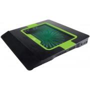 Cooler Laptop Tracer Blast TRASTA44091 (Negru cu Verde)