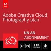 Adobe Creative Cloud Photographie - 1 To - Abonnement 1 an
