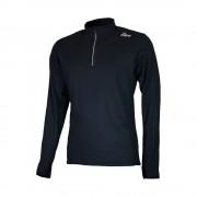 Rogelli Beste Koop Campton heren hardloopshirt lange mouwen - Zwart - Size: Large